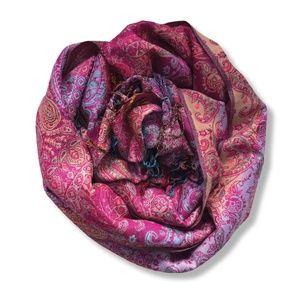 "Colourful Pashmina Scarf/Wrap | 72"" x 27"""